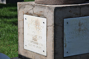 Josiah Meigs - Marker over the grave of Josiah Meigs at Arlington National Cemetery.