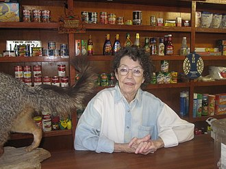 Black Lake (Louisiana) - Joy Bell Wimberly at Bell's Camp (founded 1936)
