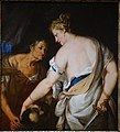 Judith and the Head of Holofernes, Italian, Venice, date unknown, oil on canvas - Princeton University Art Museum - DSC06489.jpg