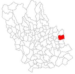 Vị trí của Jugureni