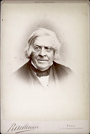 Jules Michelet - Jules Michelet, later in his career.