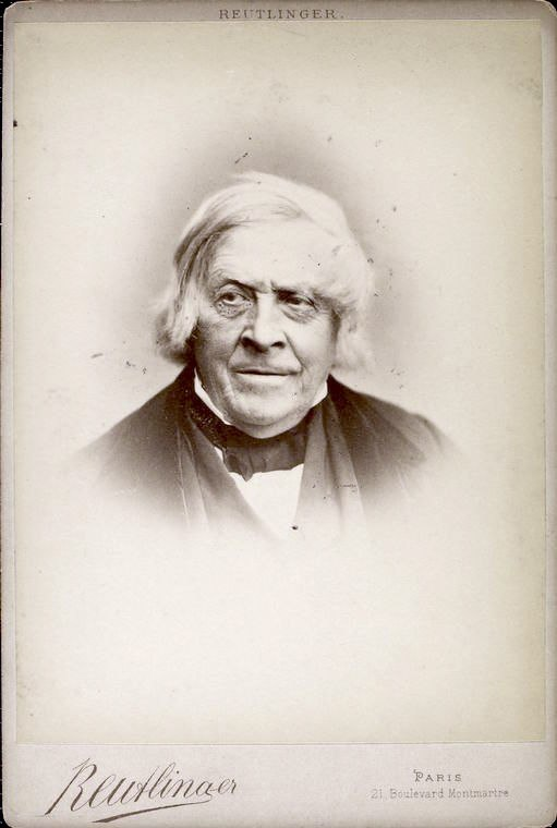 Jules Michelet portrait older