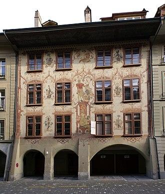Junkerngasse - No. 51, the Zeerlederhaus.