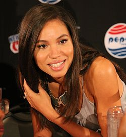 Jurnee Smollett-Bell New Yorkin Comic Conissa 2015.