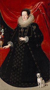 Justus Sustermans - Eleonora Gonzaga (1598-1655), Empress in black dress.jpg