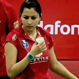 Sport in India - Jwala Gutta, the most successful doubles player from India.