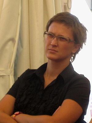 Jasmila Žbanić - Jasmila Žbanić at 2007 Sarajevo Film Festival