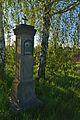 Kříž u mostu přes Hanou, Mořice, okres Prostějov.jpg
