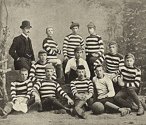 Rugby union in the Netherlands - Koninklijke HFC was the first Dutch rugby club in 1879, but defected to association football in 1883.