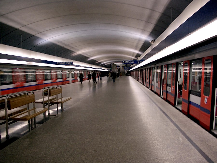 Kabaty metro station