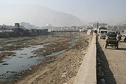 Kabul River in Kabul 2005-12-05 MG 2110.jpg