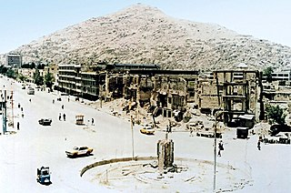 Battle of Kabul (1992–1996) Series of intermittent battles during the Afghan Civil War