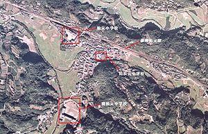 Matsumoto, Kagoshima - The Kamitaniguchi area