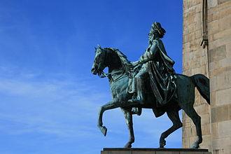Emperor William monuments - Emperor William monument in Dortmund-Hohensyburg