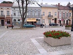 Brzesko - Market Square