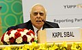 Kapil Sibal addressing at the Plenary Session – India's Soft Power, at the 12th Pravasi Bharatiya Divas 'Engaging Diaspora Connecting Across Generation', in New Delhi on January 08, 2014.jpg
