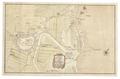 Karta över Danzig med Oliva utmärkt, 1703 - Skoklosters slott - 99043.tif