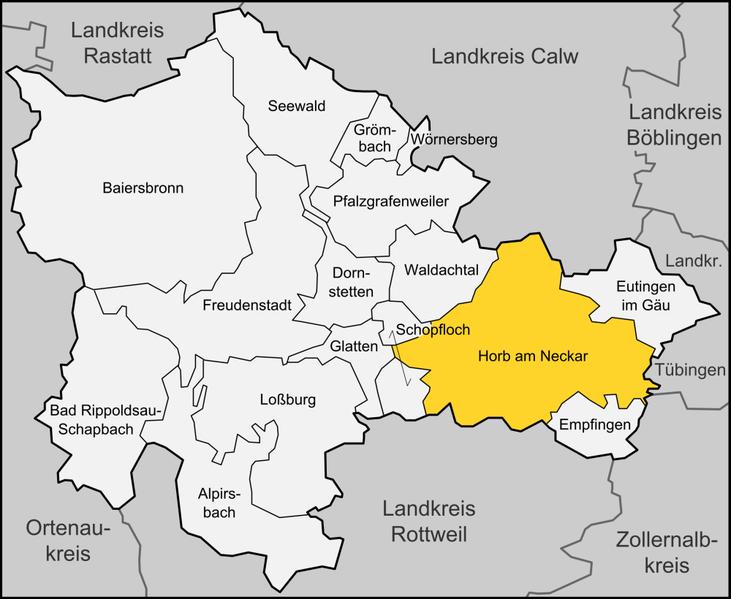 Datei:Karte Horb am Neckar.png