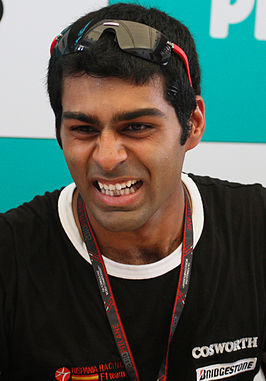Karun Chandhok in 2010.