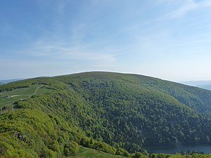 Kastelberg - The Kastelberg seen from the Rainkopf