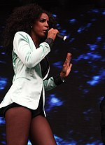 Kelly Rowland Dilemma @Supafest 2012 Melbourne (21/4/12)