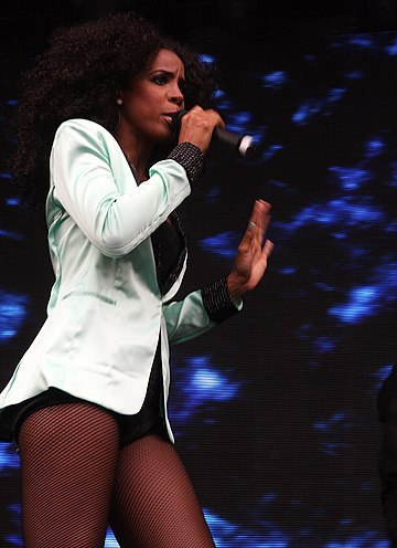 Rowland performing in Sydney during Supafest, April 2012 Kelly Rowland 12, 2012.jpg