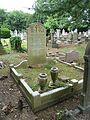 Kenneth Vaughan Simpson RAFVR grave Southgate Cemetery.jpg