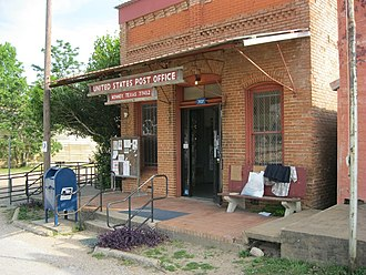Kenney, Texas - Image: Kenney TX US Post Office