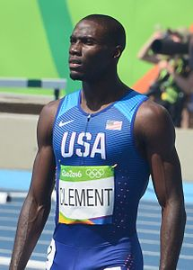 Olympiasieger:Kerron Clement, USA