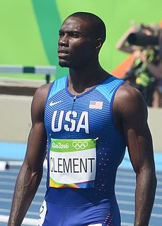 Kerron Clement American track and field athlete