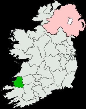 Kerry North (Dáil Éireann constituency) - Image: Kerry North (Dáil Éireann constituency)