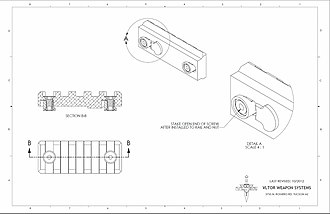 KeyMod - Image: Keymod assembly details