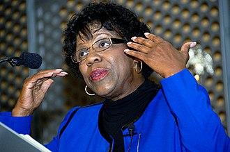 Margaret Carter - Image: Keynote speaker Margaret Carter (8113364377)