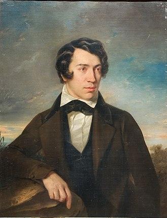 Aleksey Khomyakov - Self-portrait (1842)