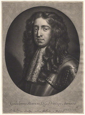 Gerard Valck - Image: King William III when Prince of Orange by Gerard Valck, after Sir Peter Lely