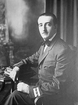 Zog I was the first and only king of Albania; his reign lasted 11 years (1928-1939). King Zog.jpg