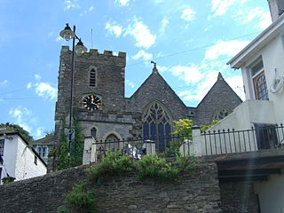 Church of St Thomas of Canterbury, Kingswear grade II listed redundant church in the United kingdom