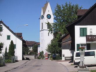 Mönchaltorf - Image: Kirche Mönchaltorf