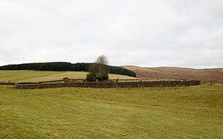 Kirkbride, Durisdeer Human settlement in Scotland