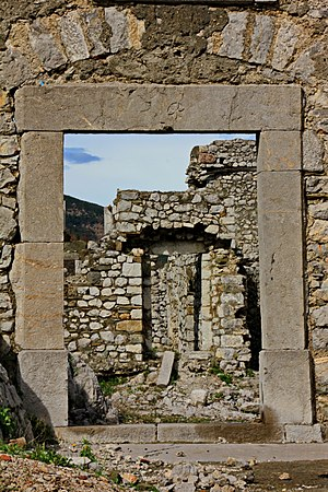 Religion in Albania - Ruins of a 12th century medieval Catholic Church in Rubik