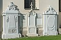 Klagenfurt Viktring Stein Friedhof Empire-Grabsteine Familie Moro 03102016 4534.jpg