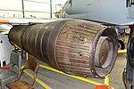 Klimov VK-1F turbojet engine, from Shenyang J-5, view 2 - Oregon Air and Space Museum - Eugene, Oregon - DSC09775.jpg