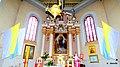 Kościół pw. św. Michała Archanioła w Mieścisku . Widok ołtarza kościoła - panoramio.jpg