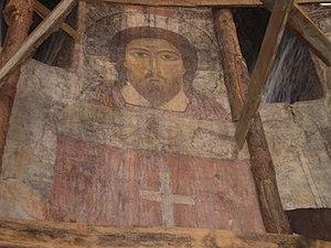Kobayr monastery - Image: Kobayr Christ