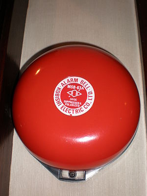 Electric bell - Fire alarm bell