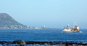 Kommetjie - Kommetjie viewed from Hout Bay