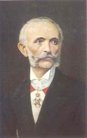 Konstantinos Zappas - Portrait of Konstantinos Zappas.