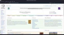 Konqueror 20.12.2 showing Dutch Wikipedia homepage screenshot.png