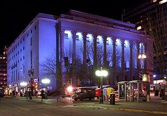 Stockholm Concert Hall - Image: Konserthuset dec 2010