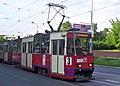 Konstal 105Na 706, tram line 3, Szczecin, 2010.jpg